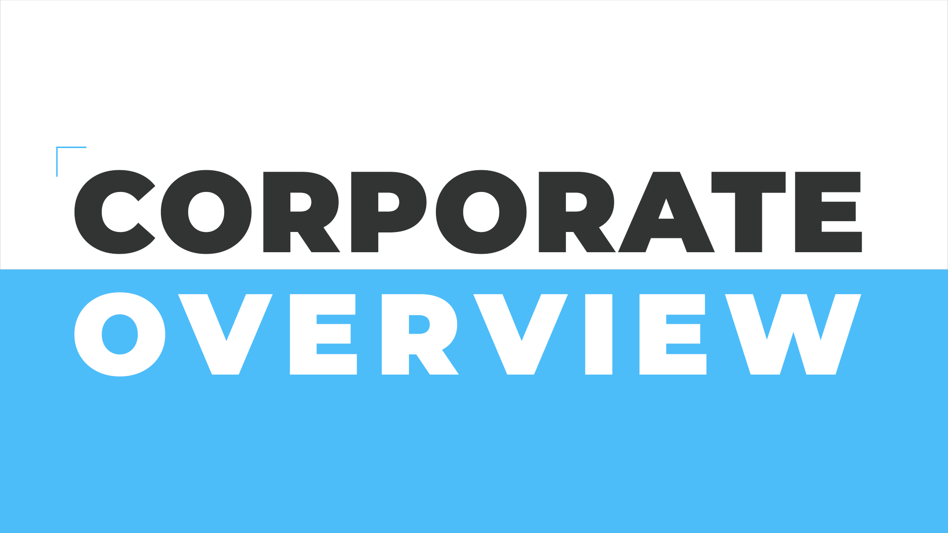 VIRTUAL – Corporate  Overview