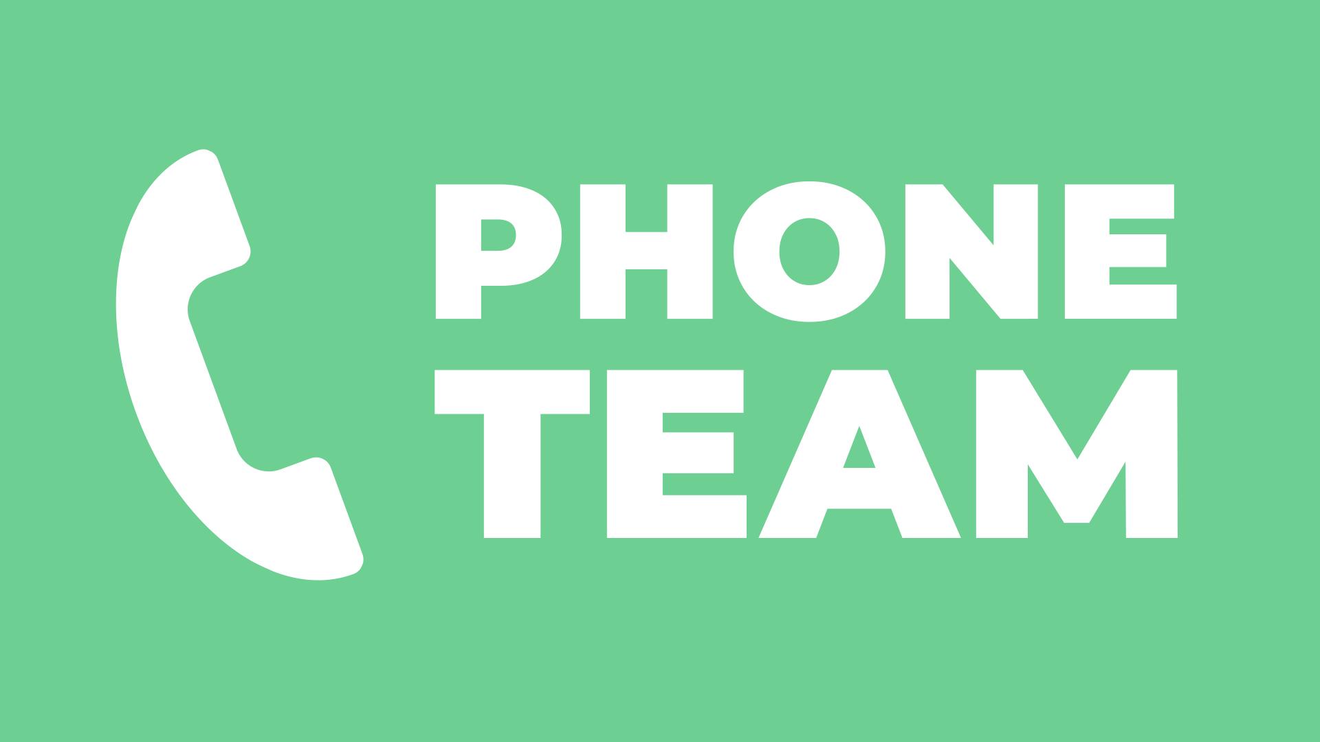 Phone Team- Nicholasville, KY